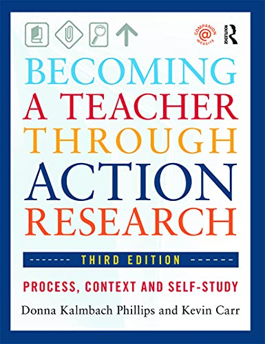 9780415660495: Becoming a Teacher through Action Research: Process, Context, and Self-Study