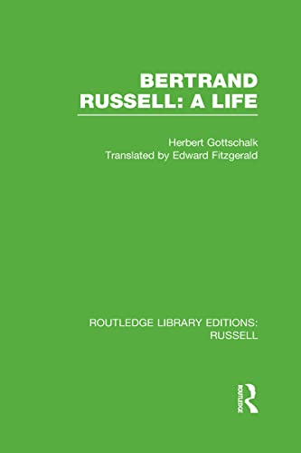 9780415661676: Bertrand Russell: A Life: 5 (Routledge Library Editions: Russell)