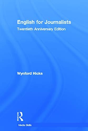 9780415661713: English for Journalists: Twentieth Anniversary Edition