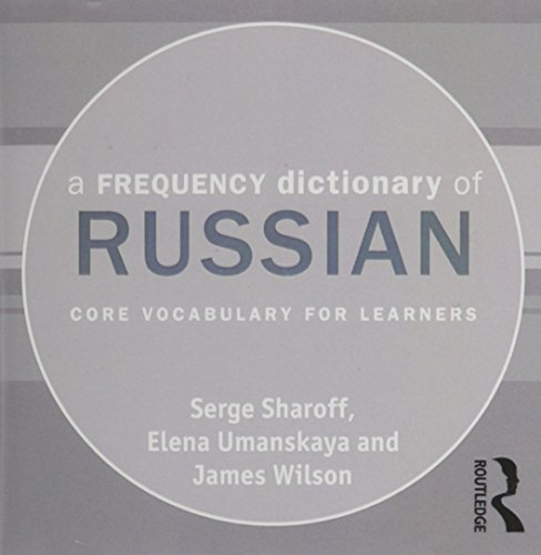 9780415663052: A Frequency Dictionary of Russian: core vocabulary for learners (Routledge Frequency Dictionaries)