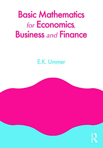 9780415664202: Basic Mathematics for Economics, Business and Finance