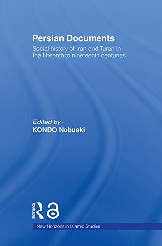 Persian Documents: Social History of Iran and