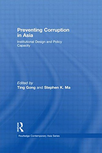 9780415667166: Preventing Corruption in Asia: Institutional Design and Policy Capacity