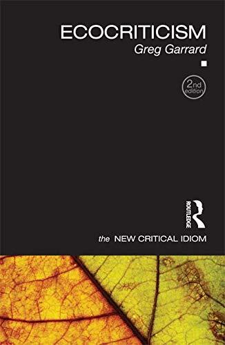 9780415667869: Ecocriticism (The New Critical Idiom)