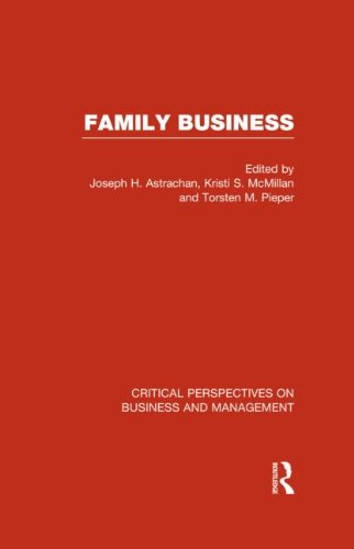 9780415669085: Family Business (Critical Perspectives on Business and Management)