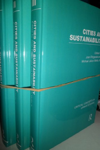 9780415670999: Cities and Sustainability (Critical Concepts in Urban Studies)