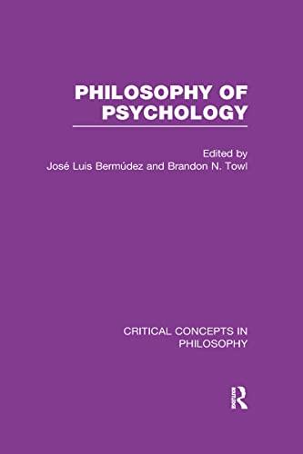 The Philosophy of Psychology: Bermudez, Jose Luis