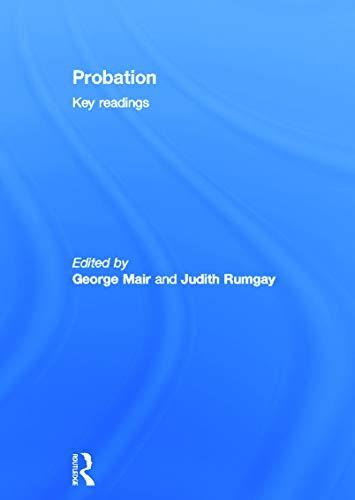 9780415671484: Probation: Key Readings
