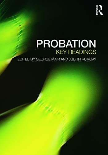9780415671491: Probation: Key Readings