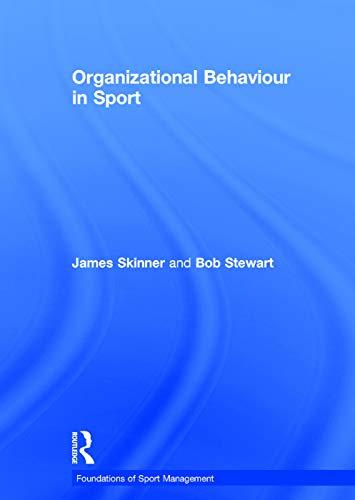 9780415671750: Organizational Behaviour in Sport (Foundations of Sport Management)