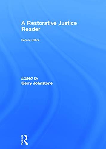 9780415672351: A Restorative Justice Reader