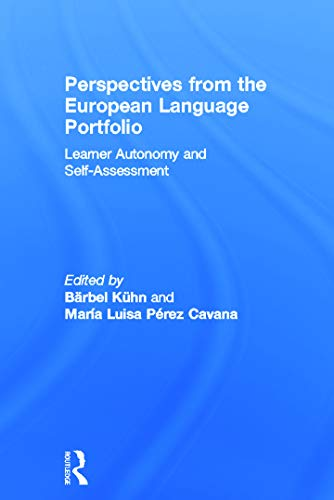 9780415675543: Perspectives from the European Language Portfolio: Learner autonomy and self-assessment