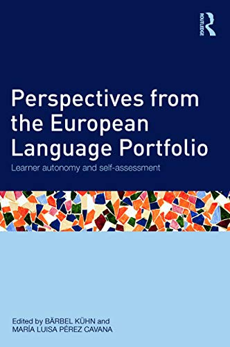 9780415675550: Perspectives from the European Language Portfolio: Learner autonomy and self-assessment