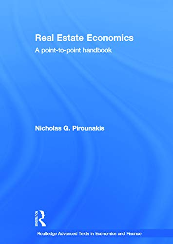 9780415676342: Real Estate Economics: A Point-to-Point Handbook