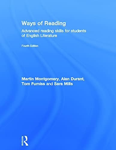 9780415677486: Ways of Reading: Advanced Reading Skills for Students of English Literature