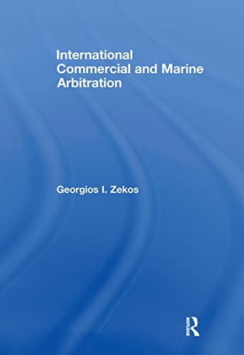 9780415677820: International Commercial and Marine Arbitration