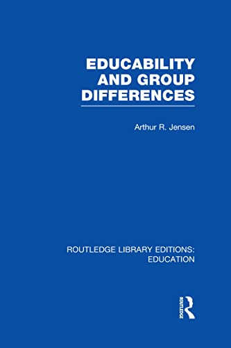 9780415678568: Educability and Group Differences