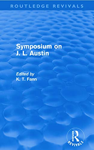 9780415681209: Symposium on J. L. Austin (Routledge Revivals)
