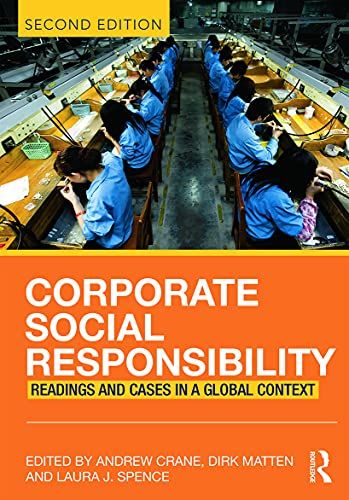 9780415683258: Corporate Social Responsibility: Readings and Cases in a Global Context