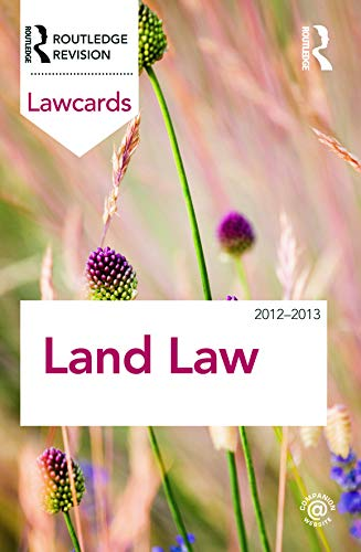 9780415683432: Land Law Lawcards 2012-2013