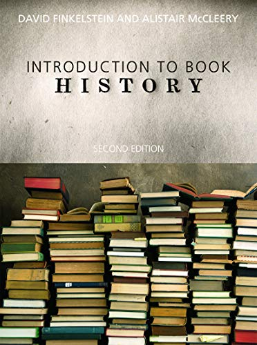 Introduction to Book History (041568806X) by Finkelstein, David; McCleery, Alistair
