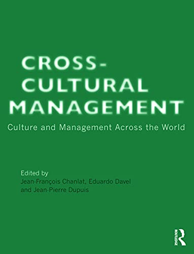 9780415688185: Cross-Cultural Management: Culture and Management across the World