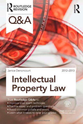 9780415688413: Q&A Intellectual Property Law (Questions and Answers)