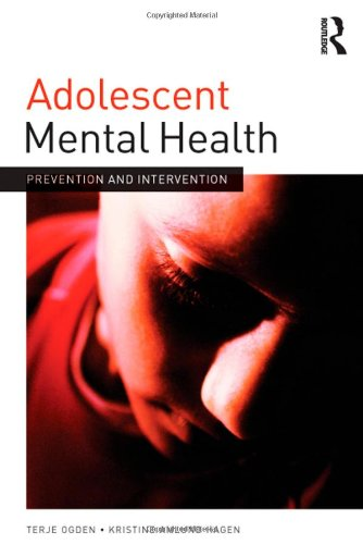 9780415689168: Adolescent Mental Health: Prevention and intervention (Adolescence and Society)