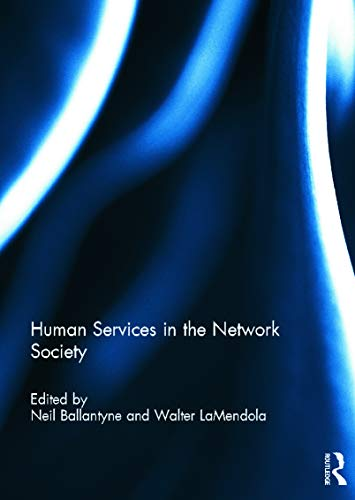 9780415690096: Human Services in the Network Society