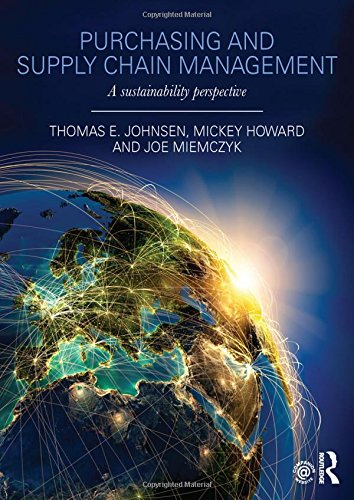 9780415690874: Purchasing and Supply Chain Management: A Sustainability Perspective