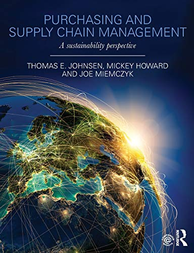9780415690881: Purchasing and Supply Chain Management: A Sustainability Perspective