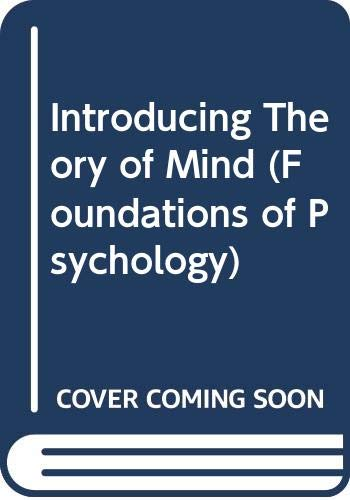 9780415690966: Introducing Theory of Mind (Foundations of Psychology)
