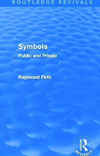 9780415694674: Symbols (Routledge Revivals): Public and Private