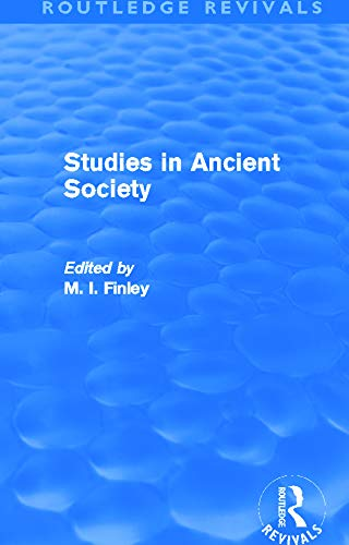 9780415694803: Studies in Ancient Society (Routledge Revivals)