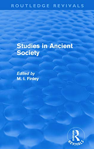 9780415694810: Studies in Ancient Society (Routledge Revivals)