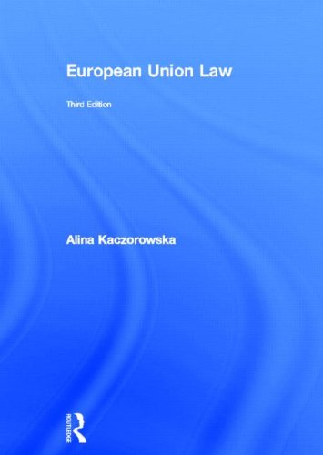 9780415695978: European Union Law