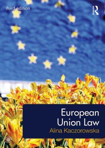 9780415695985: European Union Law
