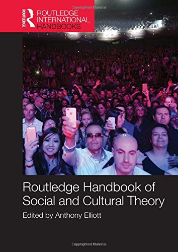 9780415696098: Routledge Handbook of Social and Cultural Theory (Routledge International Handbooks)