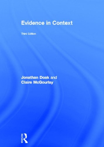 9780415696432: Evidence in Context