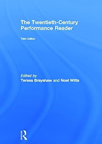 9780415696647: The Twentieth Century Performance Reader