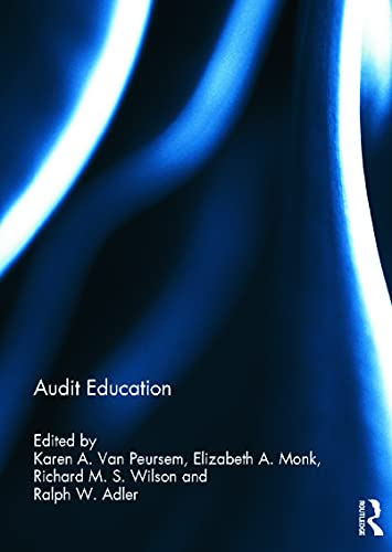 9780415698733: Audit Education (Special issue books from 'Accounting Education: an international journal')