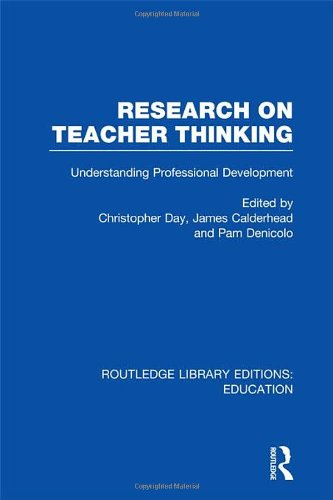 9780415698825: Routledge Library Editions: Education Mini-Set N Teachers & Teacher Education Research 13 vols: Research on Teacher Thinking (RLE Edu N): Understanding Professional Development: Volume 3