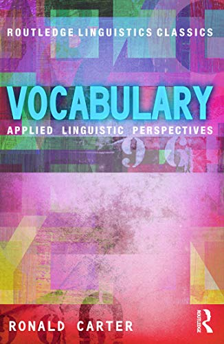 9780415699341: Vocabulary: Applied Linguistic Perspectives (Routledge Linguistics Classics)