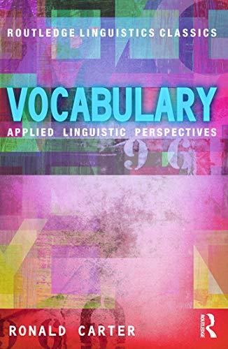 9780415699341: Vocabulary: Applied Linguistic Perspectives (Routledge Linguistics Classics)