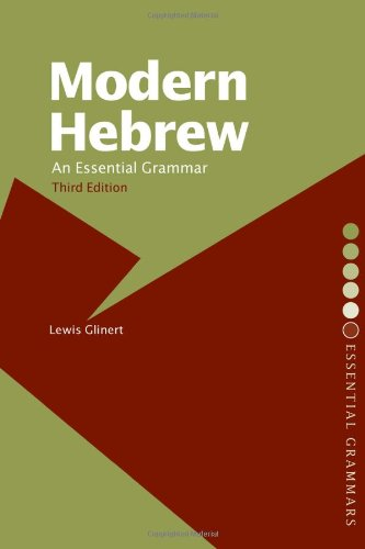 9780415700818: Modern Hebrew: An Essential Grammar