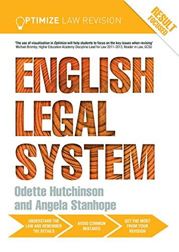 9780415702294: Optimize English Legal System (Volume 2)