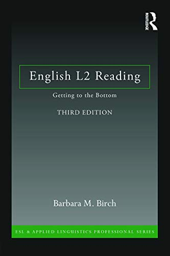 9780415706278: English L2 Reading: Getting to the Bottom (ESL & Applied Linguistics Professional Series)