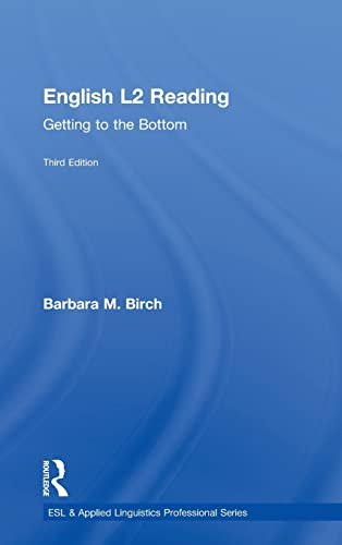 9780415706285: English L2 Reading: Getting to the Bottom (ESL & Applied Linguistics Professional Series)