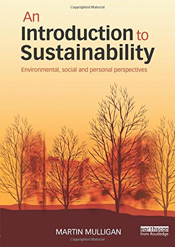 9780415706445: An Introduction to Sustainability: Environmental, Social and Personal Perspectives