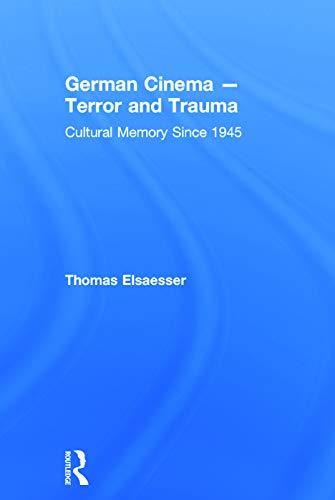 9780415709262: German Cinema - Terror and Trauma: Cultural Memory Since 1945
